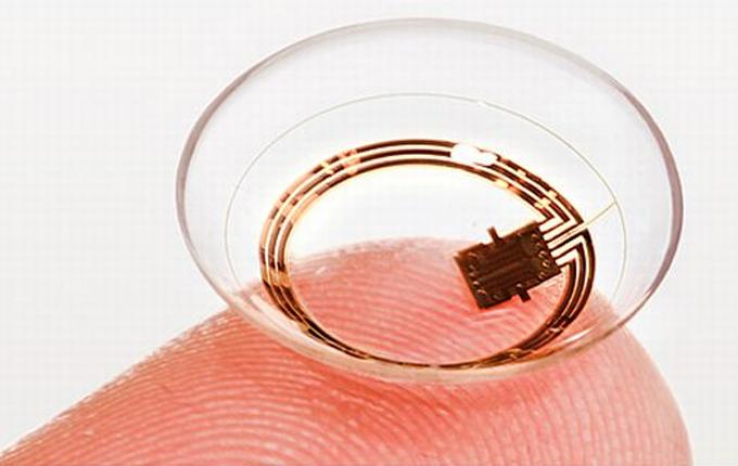 Google…getting ready to sell its smart contact lens?