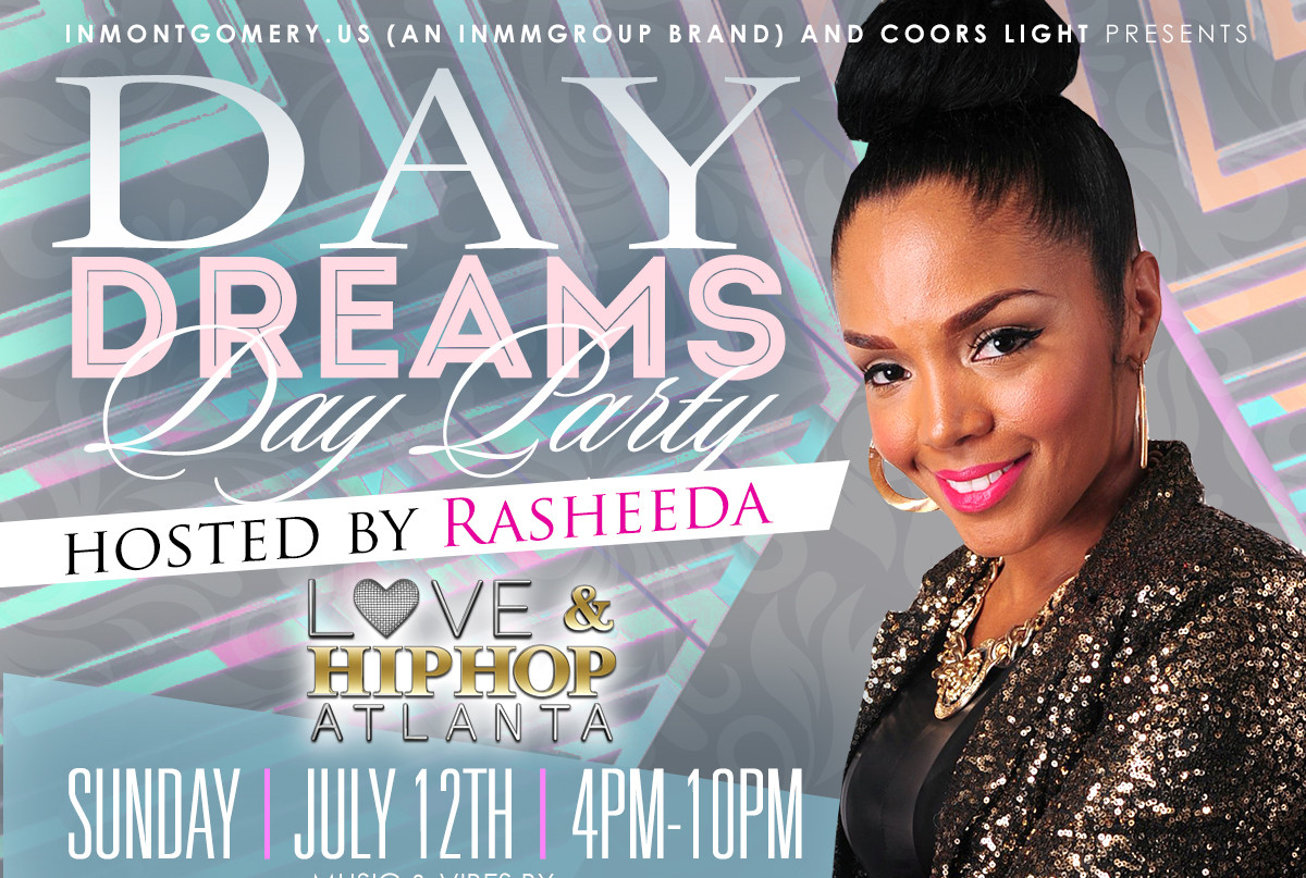 Rasheeda hosts DayDreams