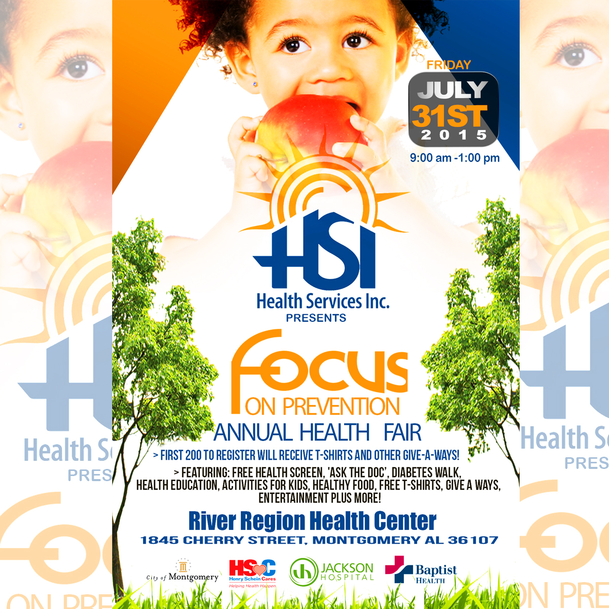 A Focus on Prevention – FREE Health Fair