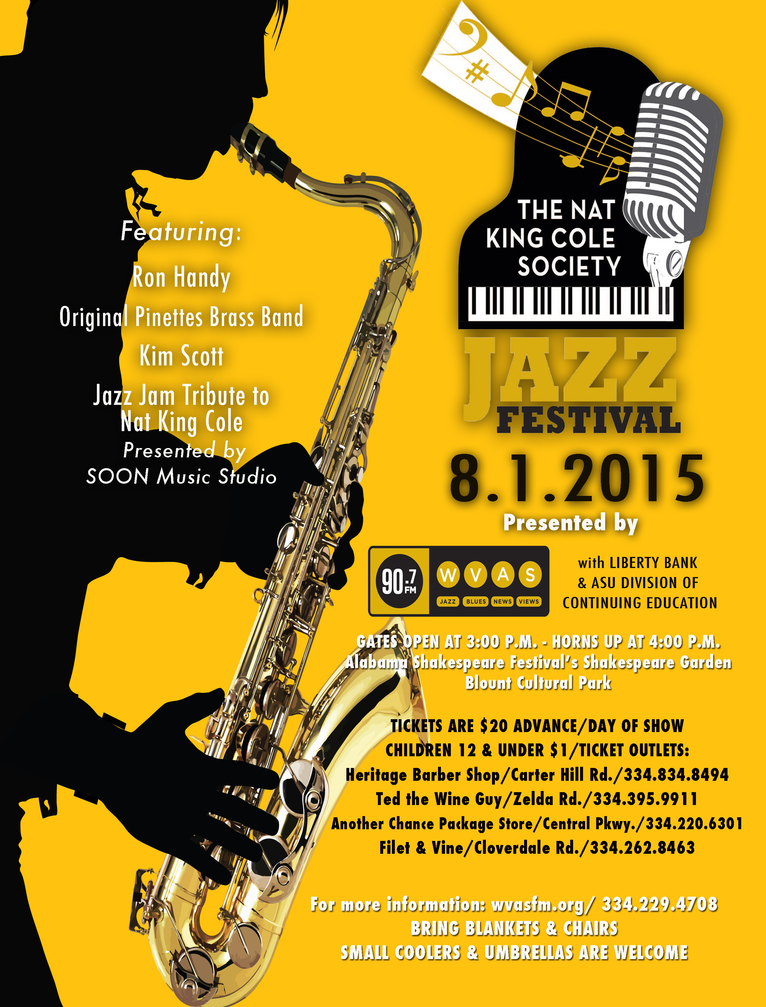 Cole Festival Flyer 2015