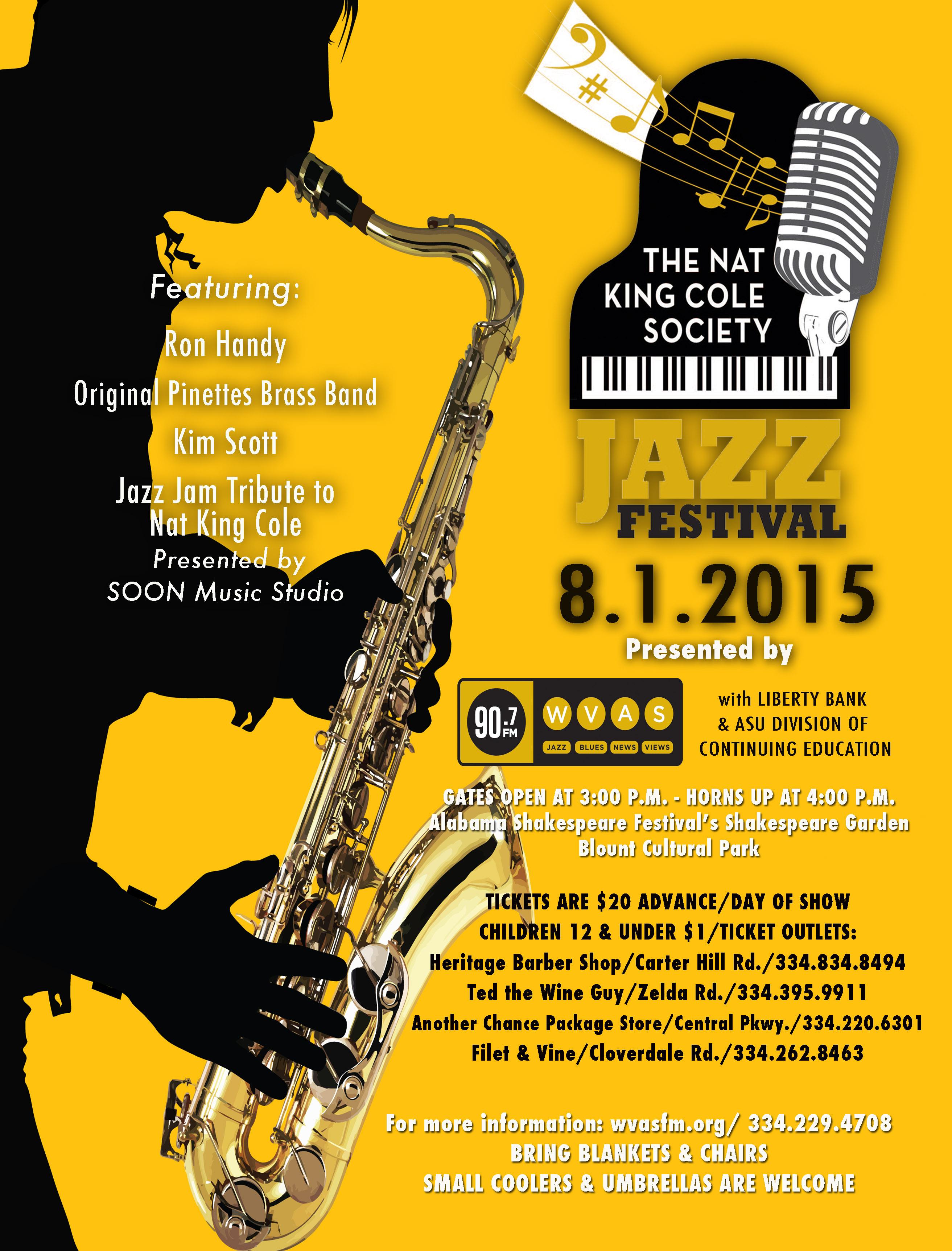 Cole Festival Flyer 2015