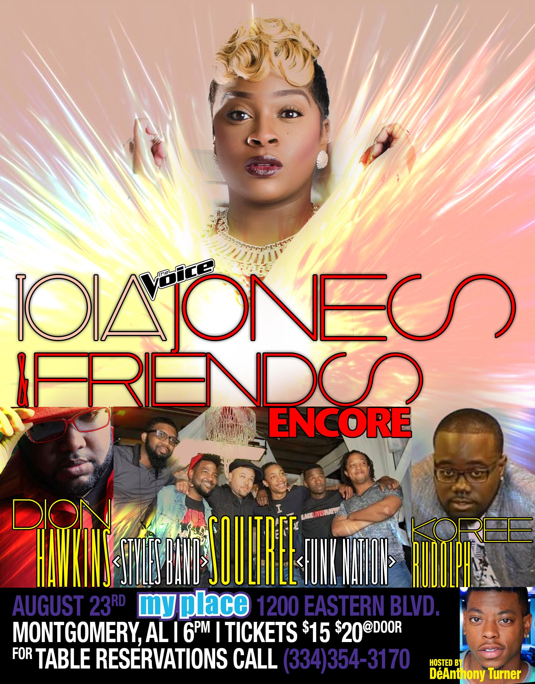 Toia Jones Encore inMontgomery