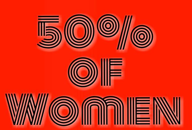 50% of women have plan b