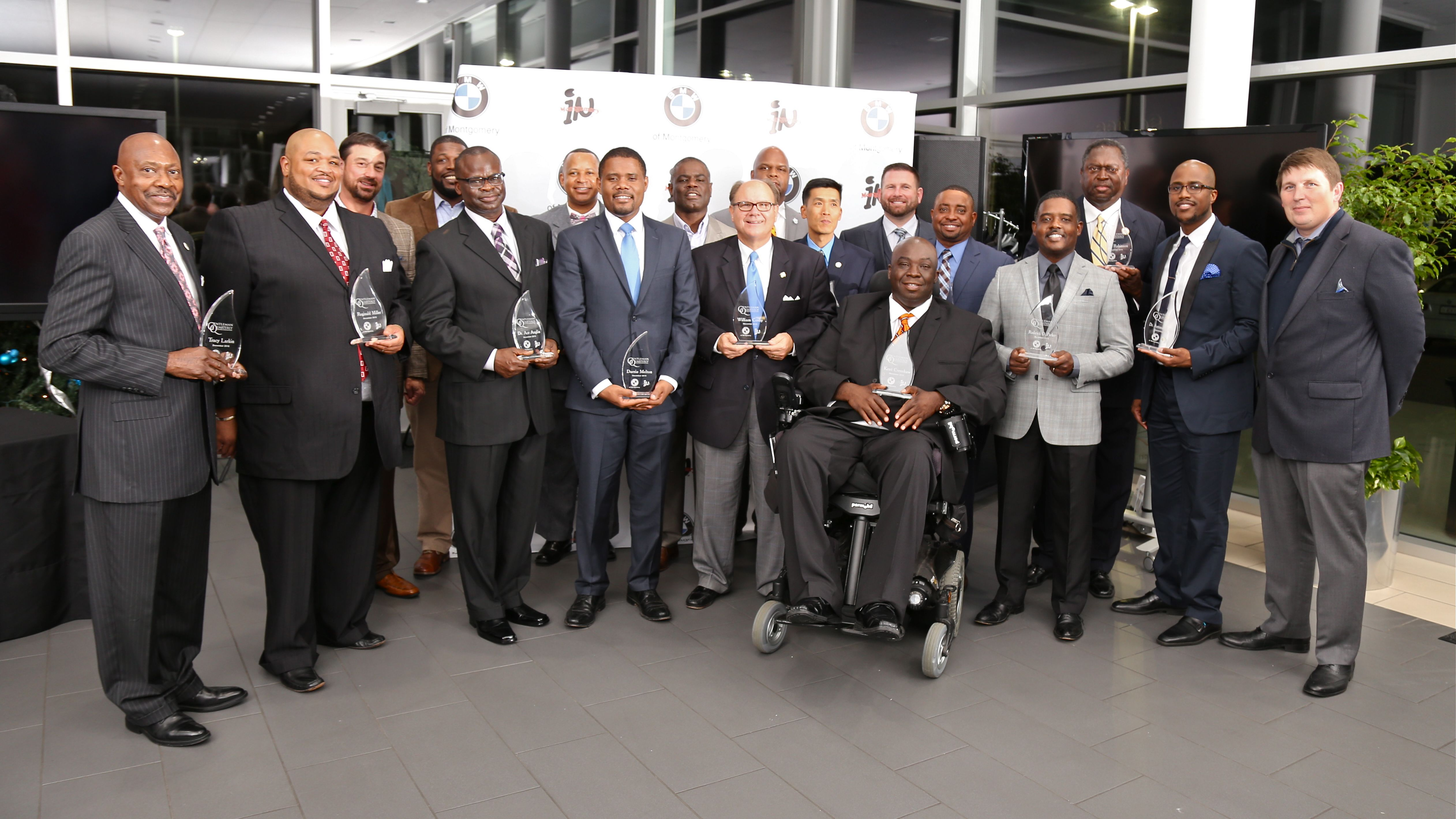 GQHAAward presented by BMW of Montgomery & inMMGroup