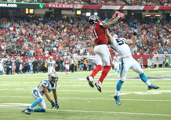 panthers falcons football 1