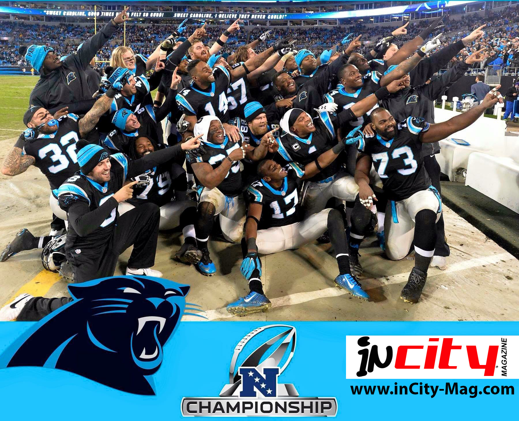 Carolina Panthers Superbowl 50 Bound