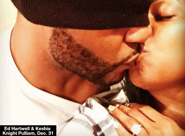 Keshia Knight Pulliam & Ed Hartwell Get Engaged On New Year's Eve