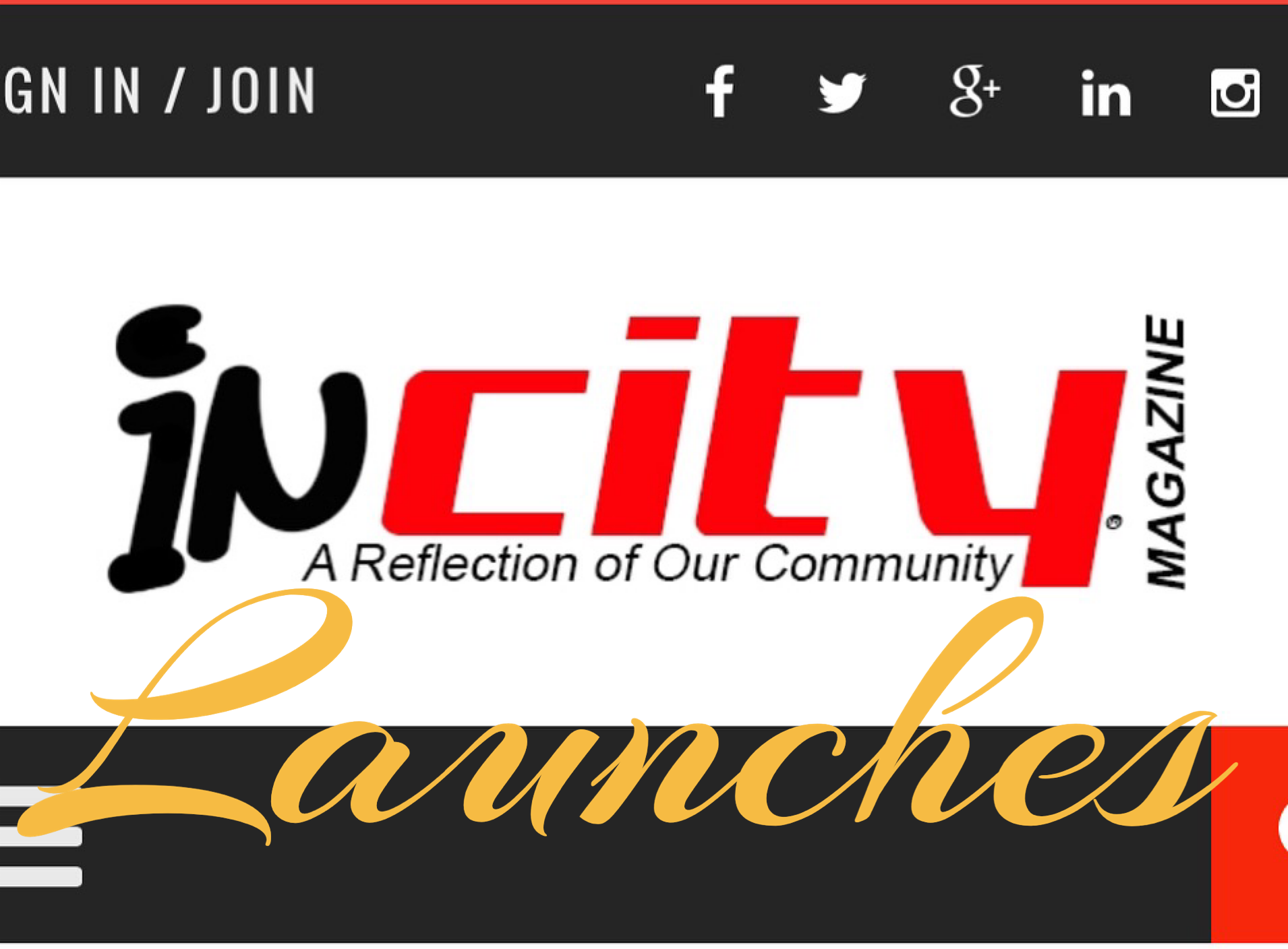 inCity Magazine OFFICIALLY Launches