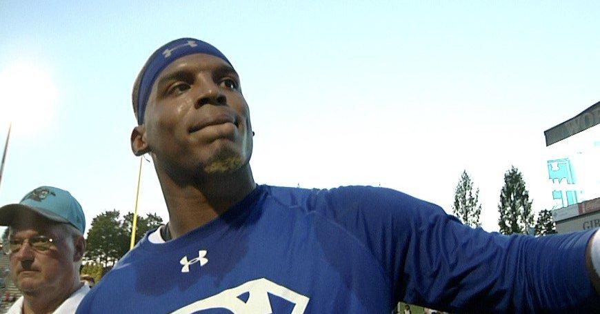 Cam Newton Debuts New Look as Training Camp Begins