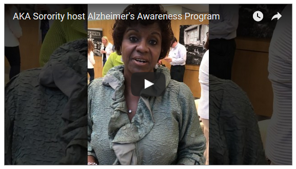 Birmingham: Alzheimer's Awareness Program with AKA's