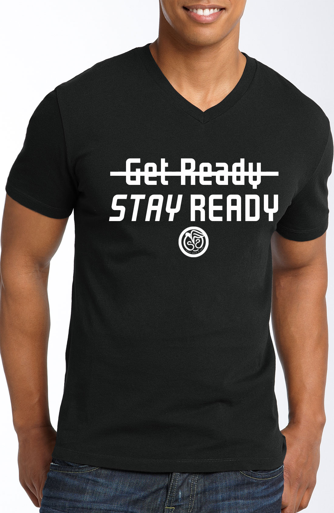Stay ReadyBlack VNeck, Fly'n Solo & Sync