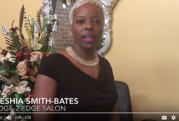 Keshia Smith Bates, Edge-2-Edge Salon, inCity Magazine