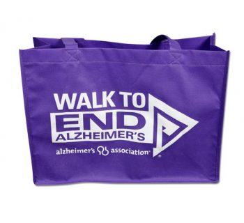 Walk Purple Tote inCity Magazine Alzheimers Association River Region