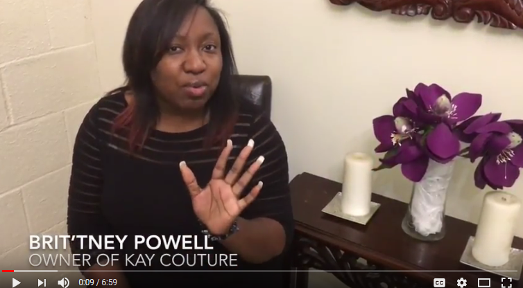 Brit'tney Powell of Kay Couture, Wal-Mart, Fashion & Shonda Rhimes
