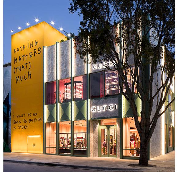 Gucci Miami Design District Store Opening