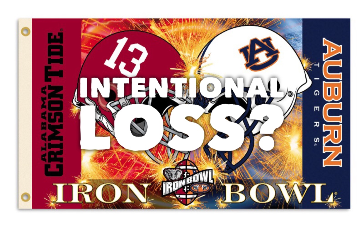 Alabama's Iron Bowl Loss Set-Up For National Championship?