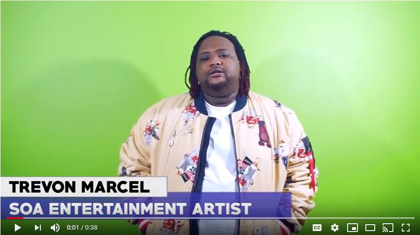 Music Artist Trevon Marcel Launches Mental Health PSA