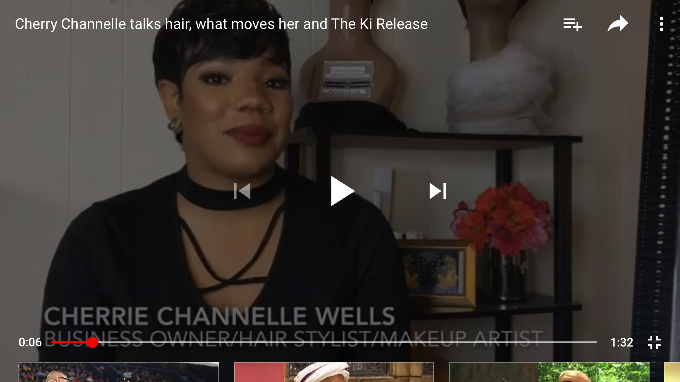 Cherry Channelle Talks Hair & Giving Back