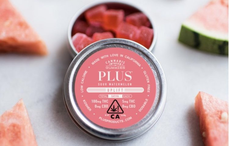 Plus Products Ranked #1 Edibles Brand in California