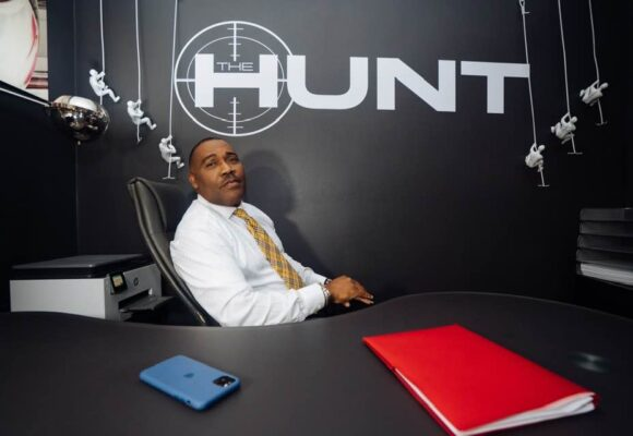"Formerly Homeless Millionaire James Hunt Teaches Young Black Men How to ""Hunt"" for Success"