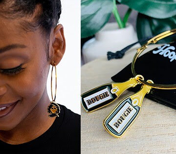Donyale Walton: Launches New Collection of Charms For Hoop Earrings