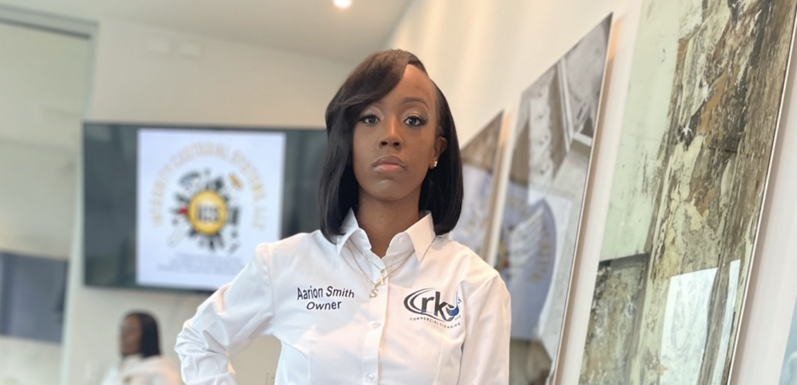 Aarion Smith: makes business & life easier for her clients