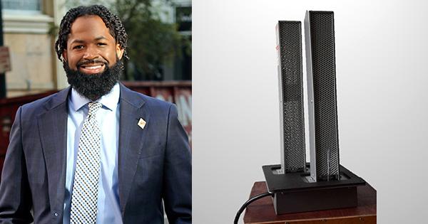Black Entrepreneur Gerald Baptiste: Makes History Distributing Air Purifiers That Combat Airborne Viruses