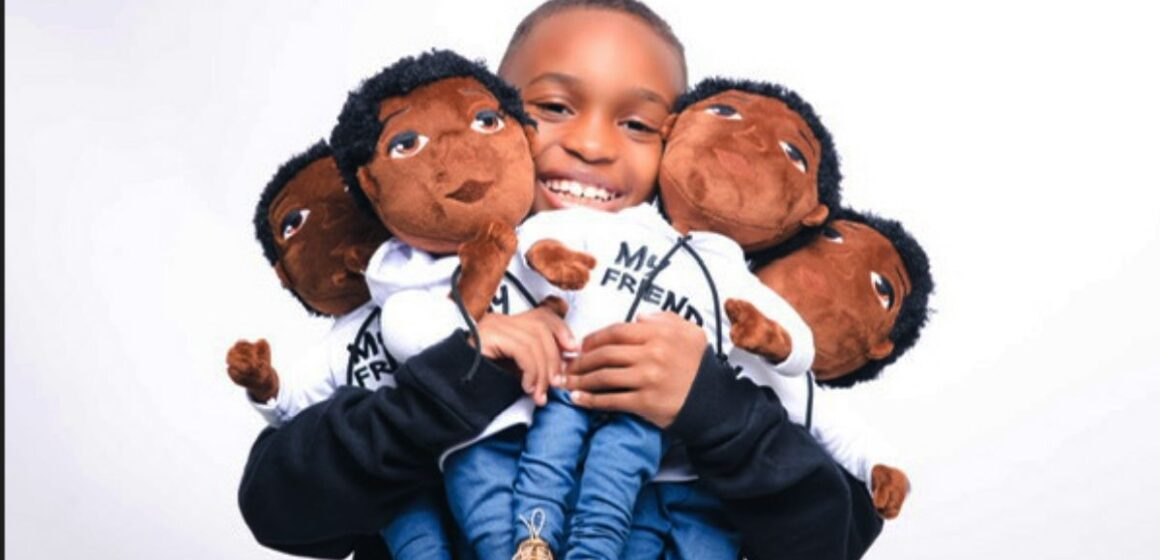 LIL DEE, THE 8-YEAR OLD CEO LAUNCHES A NEW PLUSH LINE.