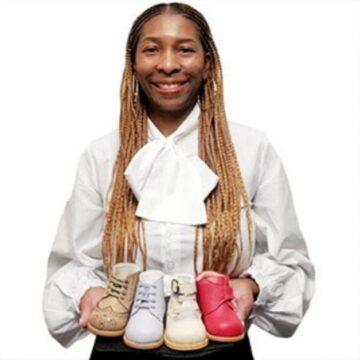 Founder of black-owned baby shoe brand lands huge partnership.