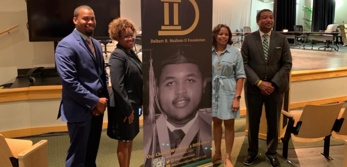 Delbert B. Madison II Foundation Launches